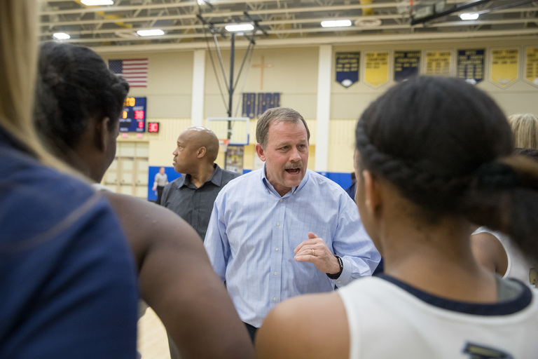 Longtime GC Girls Basketball Coach Tom Splaine Retires