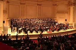 Good Counsel Symphonic Orchestra and Massed Choir Perform at Carnegie Hall