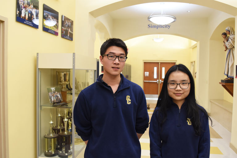 Sophia (Xi) and Naral (Shujie) Finalists in 21st annual High School Mathematical Contest in Modeling (HiMCM)