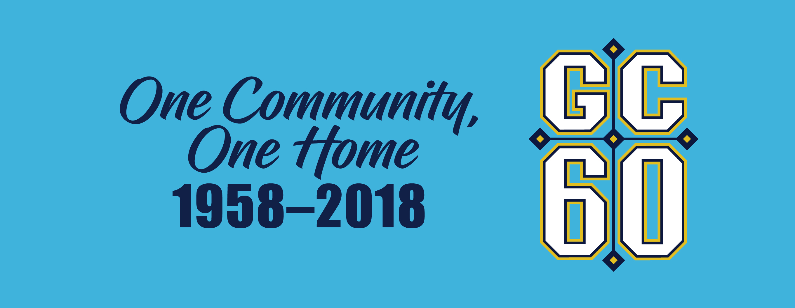 One Community One Home graphic