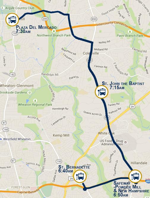 Transportation Maps Bus Services Travel Plans Directions
