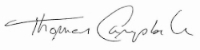 Principal Tom Campbell signature