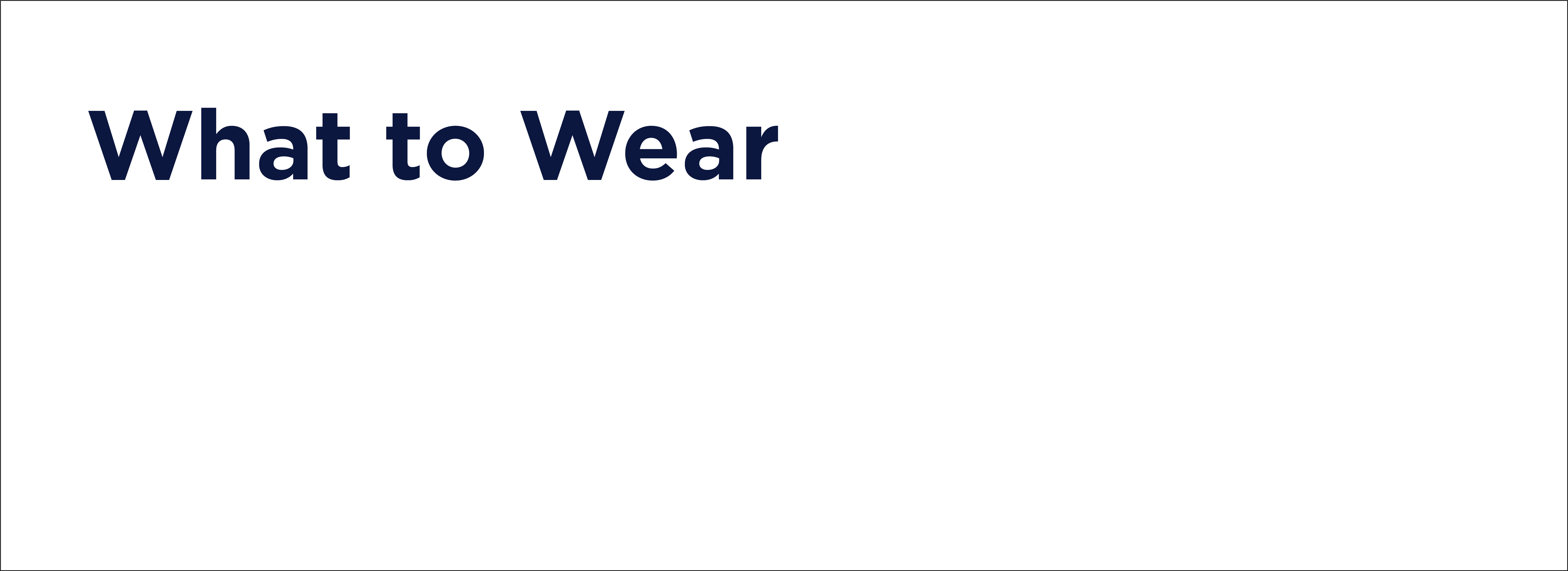 what to wear text