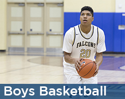 Good counsel boys basketball player free throw