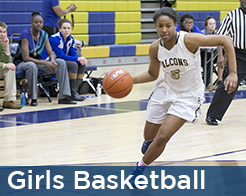 Good counsel girls basketball player driving