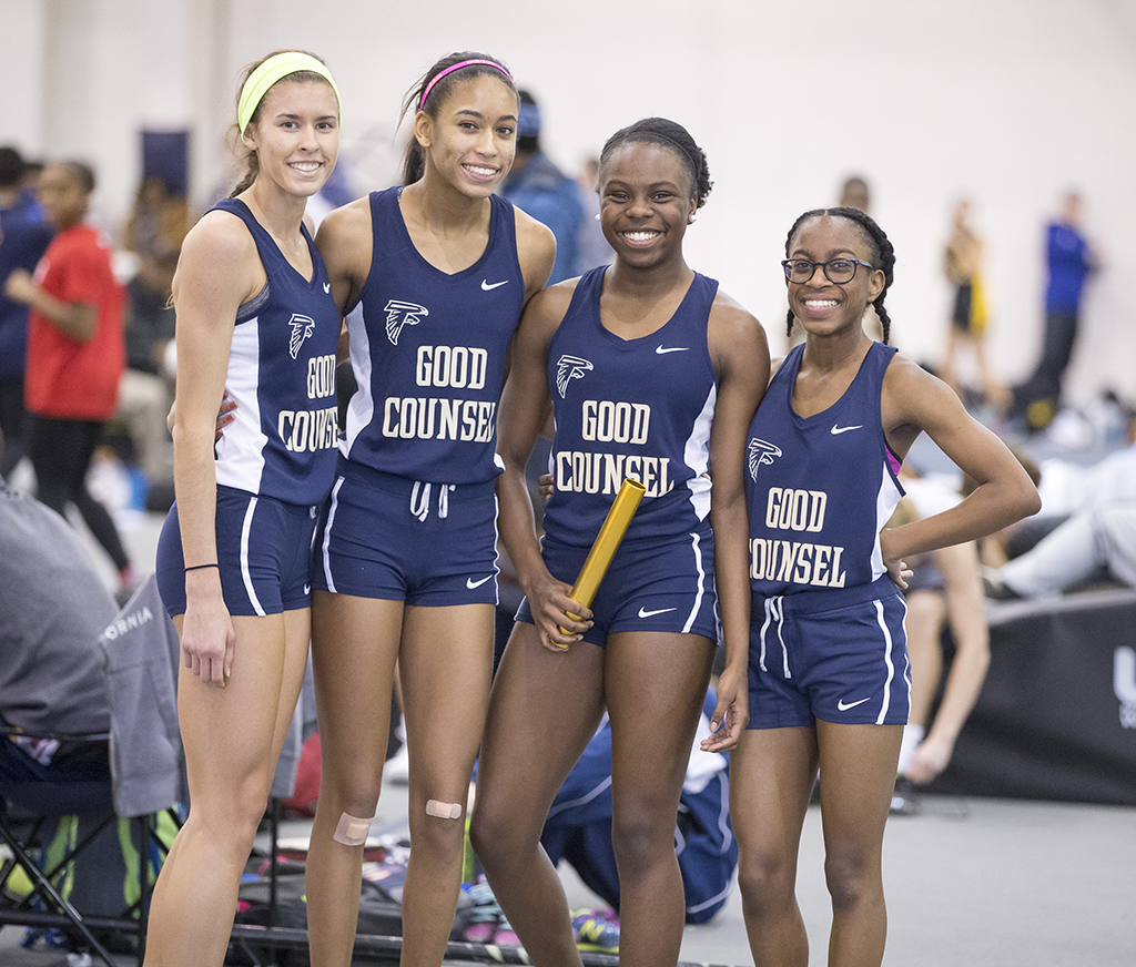 Indoor Track Our Lady Of Good Counsel High School Olney Md