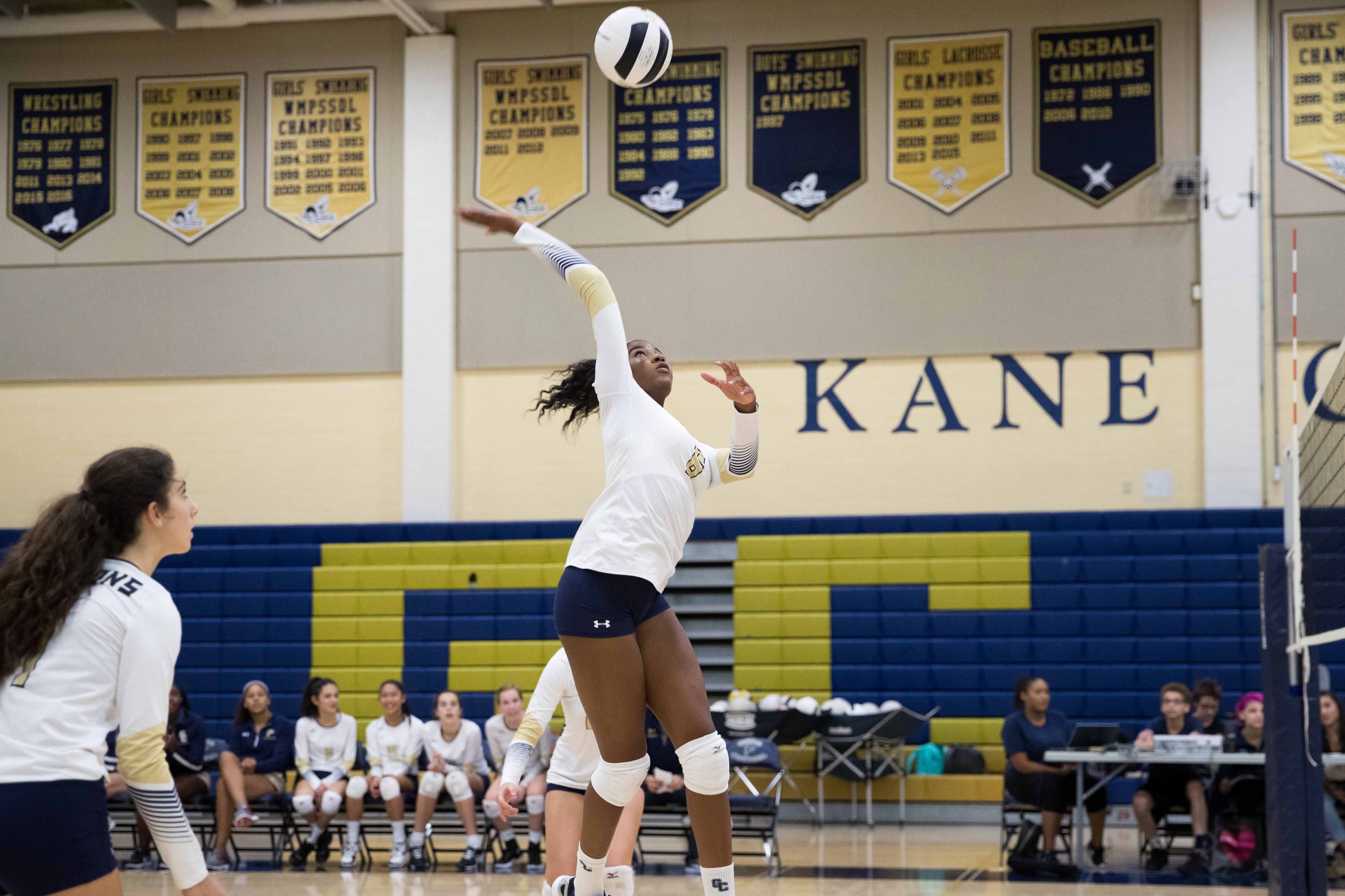 Volleyball Our Lady Of Good Counsel High School Olney Md