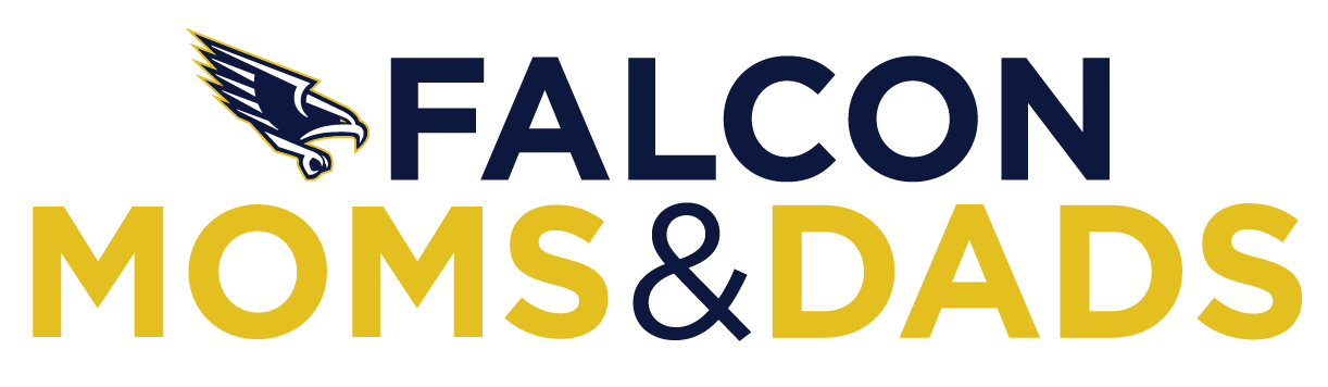 Falcons Mom and Dad logo