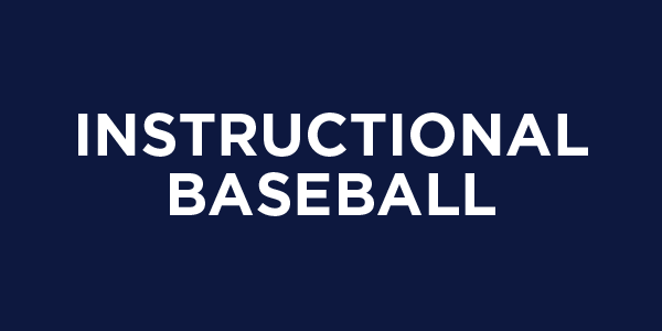 Instructional baseball
